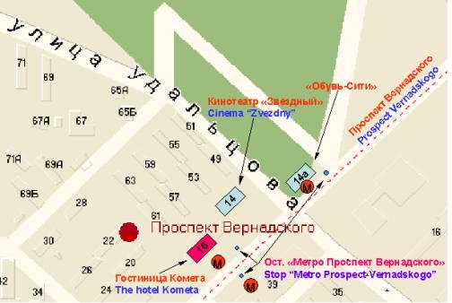 Схема проезда до метро киевская фото 636