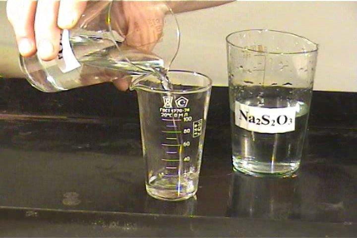 Тиосерная кислота неустойчива (см. уравнение реакции!), поэтому ее получают взаимодействием тиосульфата натрия с...